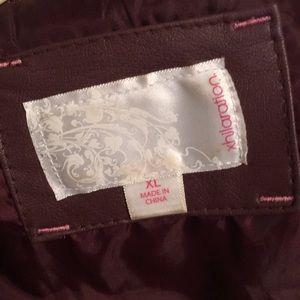 Xhilaration Jackets & Coats - Faux leather jacket